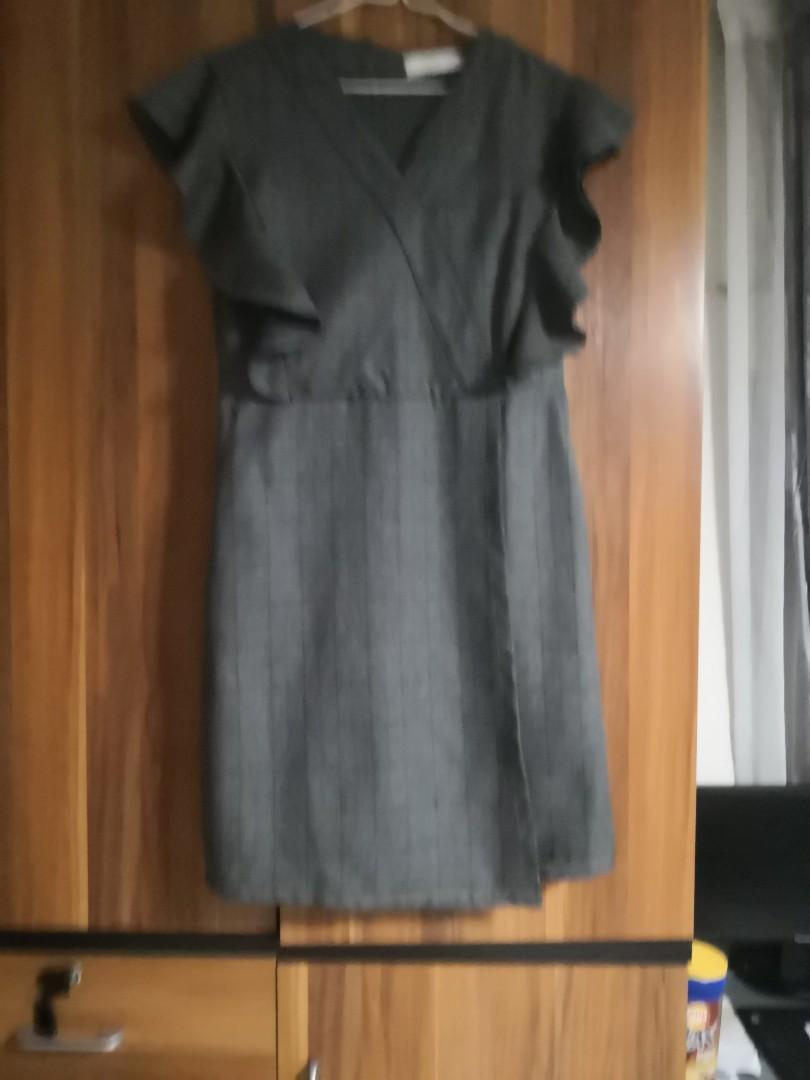 斯文格子裙
