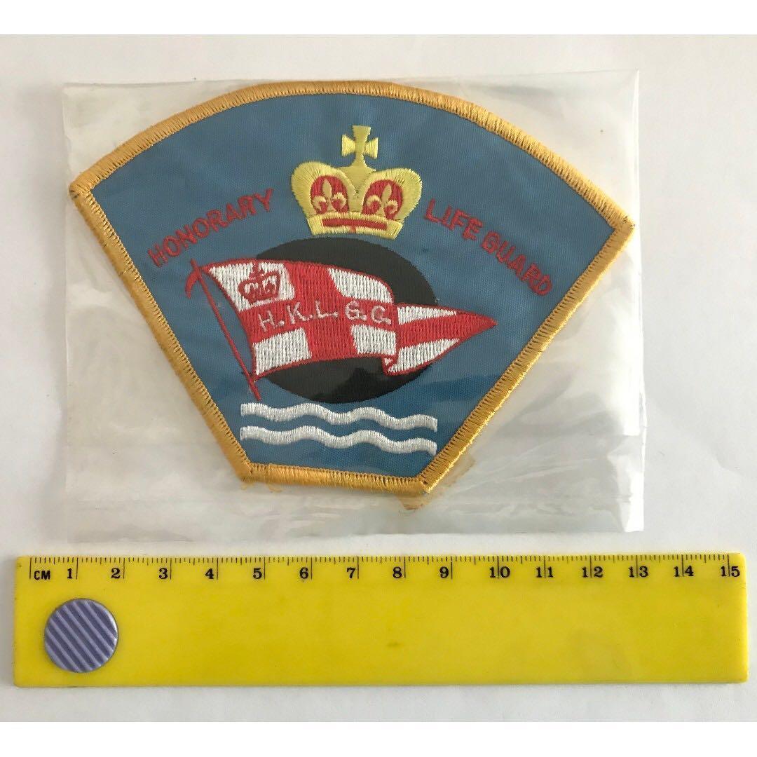 救生章 – 香港拯溺總會 (1997年前) 義務救生員當值紀念布章