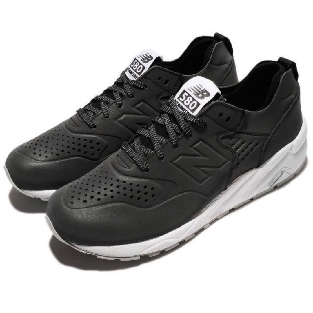 現貨 iShoes正品 New Balance 580 男鞋 反光 黑 白 男款 復古 休閒鞋 MRT580DX D