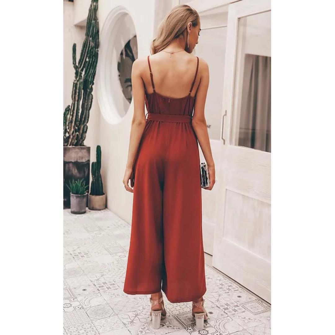 AFTERPAY AVAILABLE - NAKED DECISION JUMPSUIT - SIZES S & M