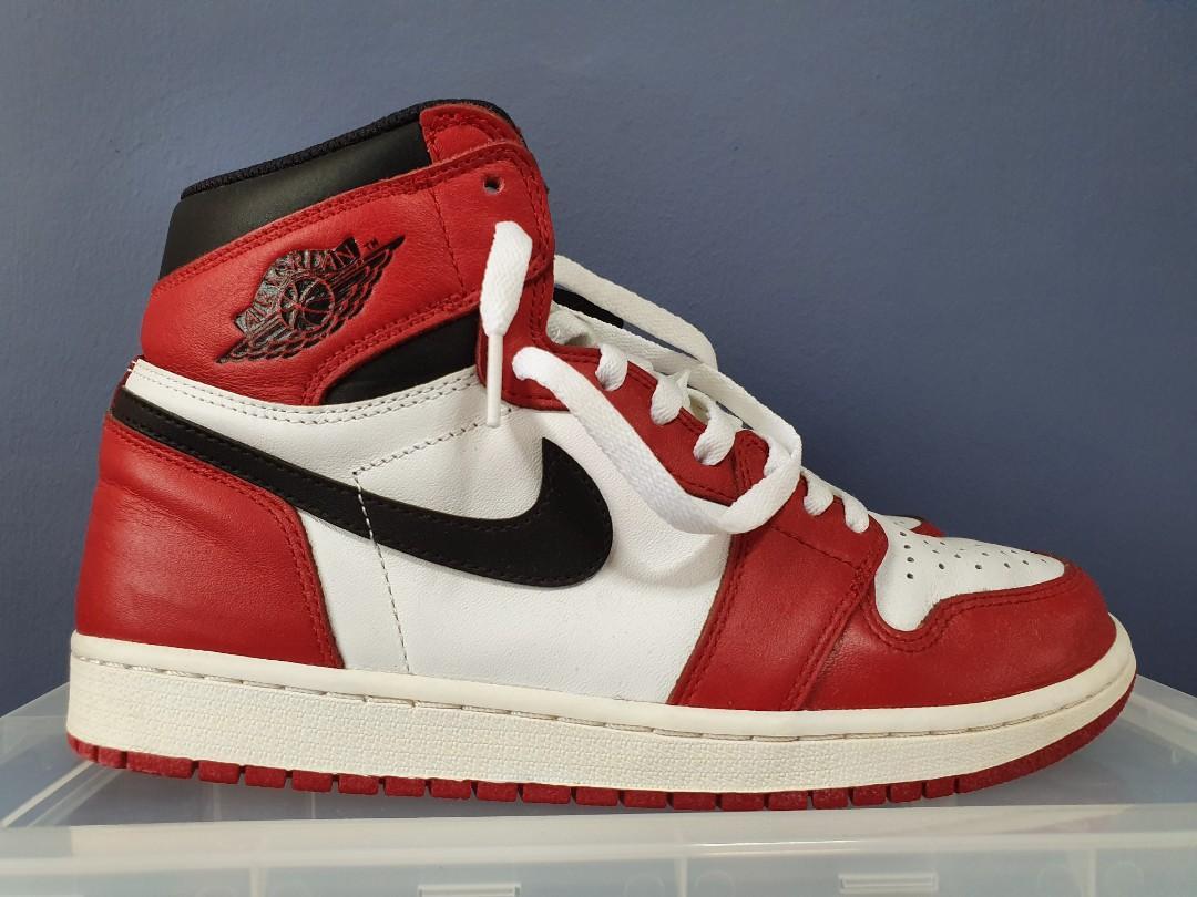 hot sales e8816 734eb Air Jordan 1 Chicago 2015, Men's Fashion, Footwear, Sneakers ...