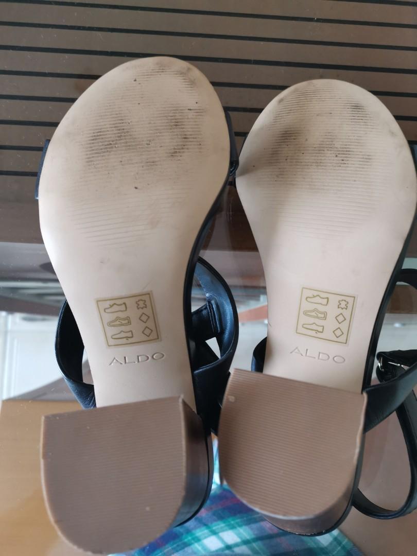 Aldo Block Heels Shoes size 7.5us