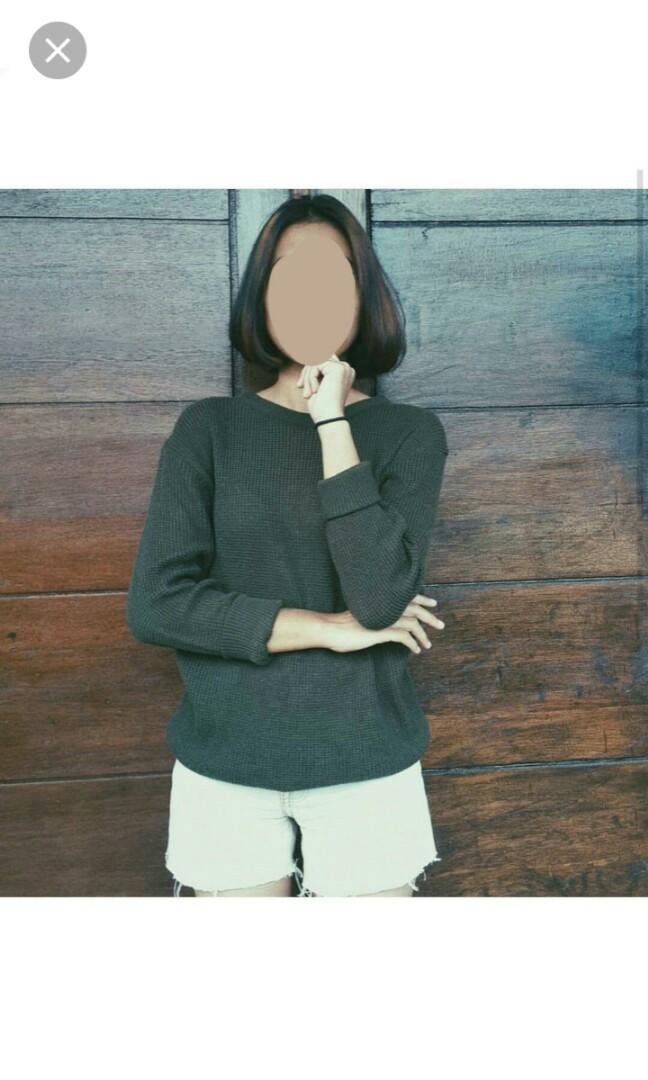 Army sweater Bershka #BAPAU