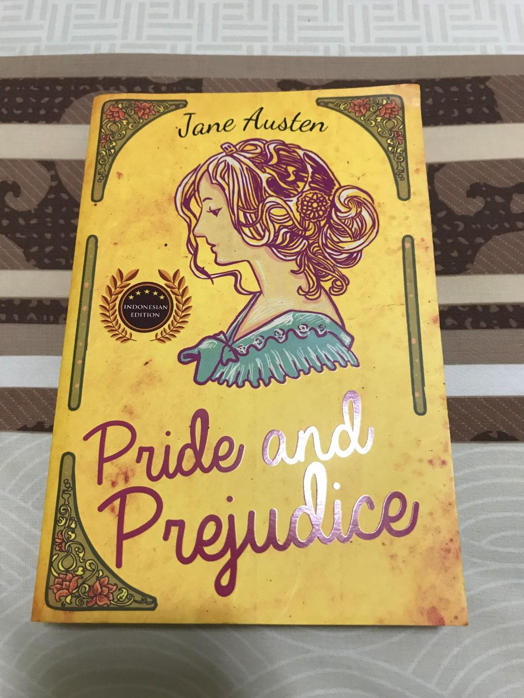 #BAPAU Pride and Prejudice Classic Novel by Jane Austen