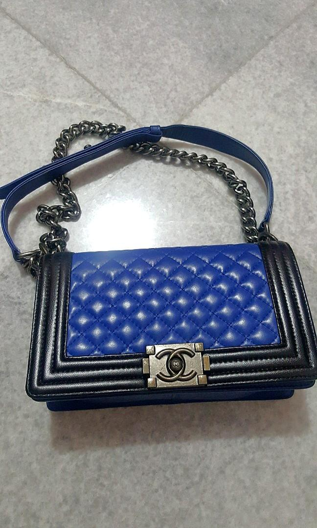 #BAPAU Chanel boy medium KW