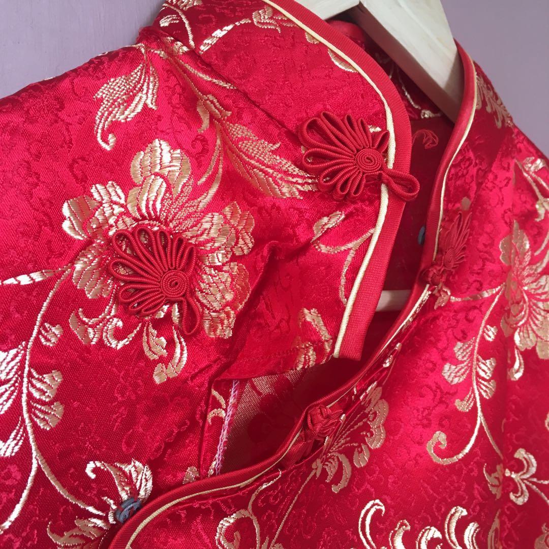 #BAPAU CONGSAM Red Dress