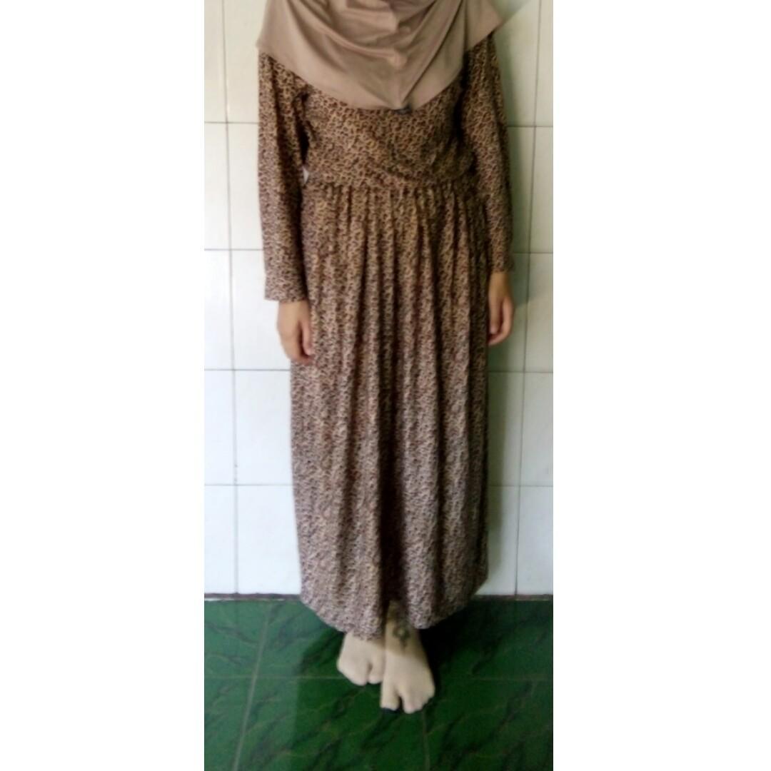 #BAPAU Dress Motif tutul