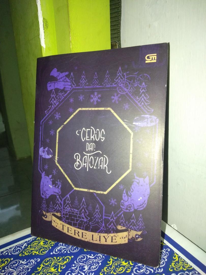 #Bapau Novel Tere Liye Ceros dan Batozar