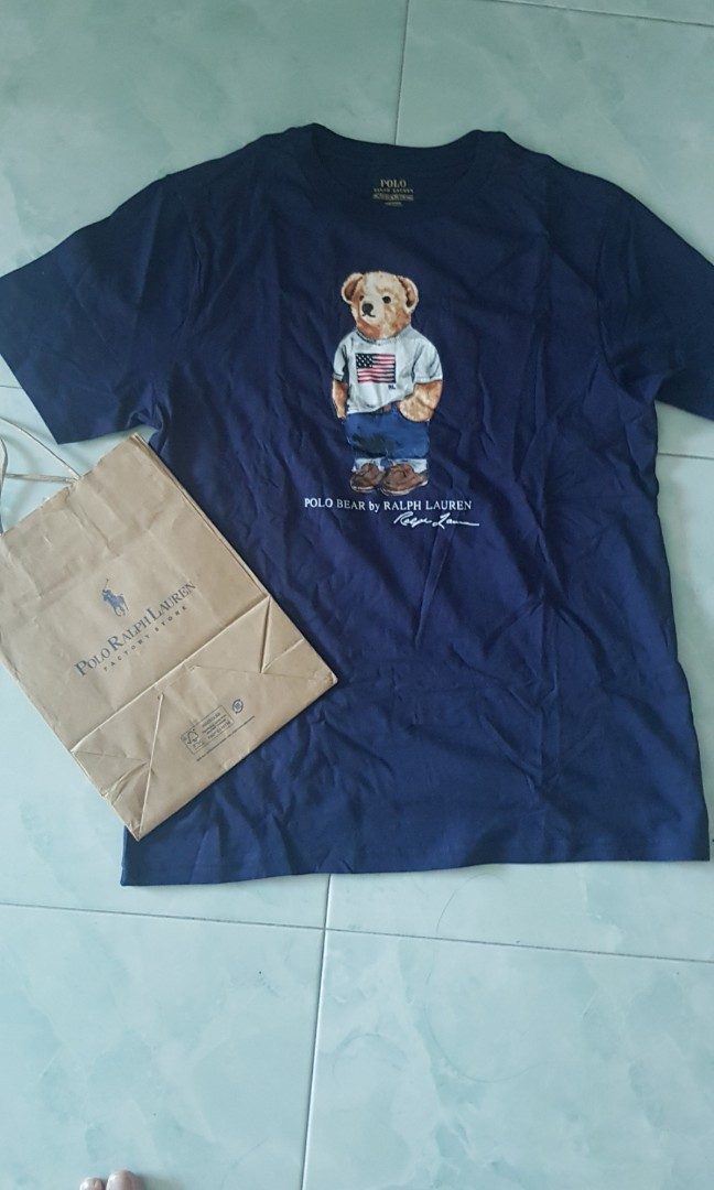 New Polo Lauren Xl S Ralph Bear Fit Mens M Tag OkZiTXlwPu