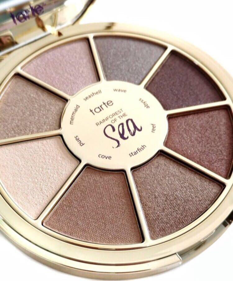 BRAND NEW** TARTE RAINFOREST OF THE SEA PALETTE **