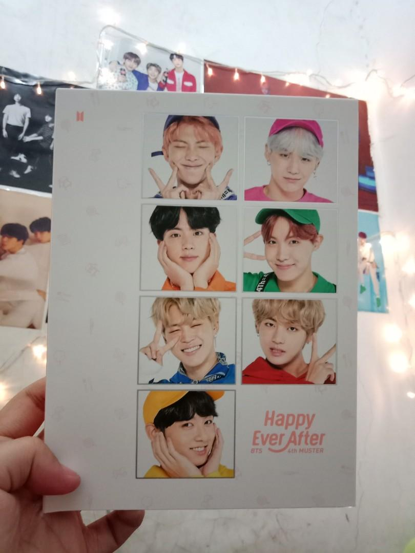 BTS 4TH MUSTER DVD ONLY - 3 DVDs
