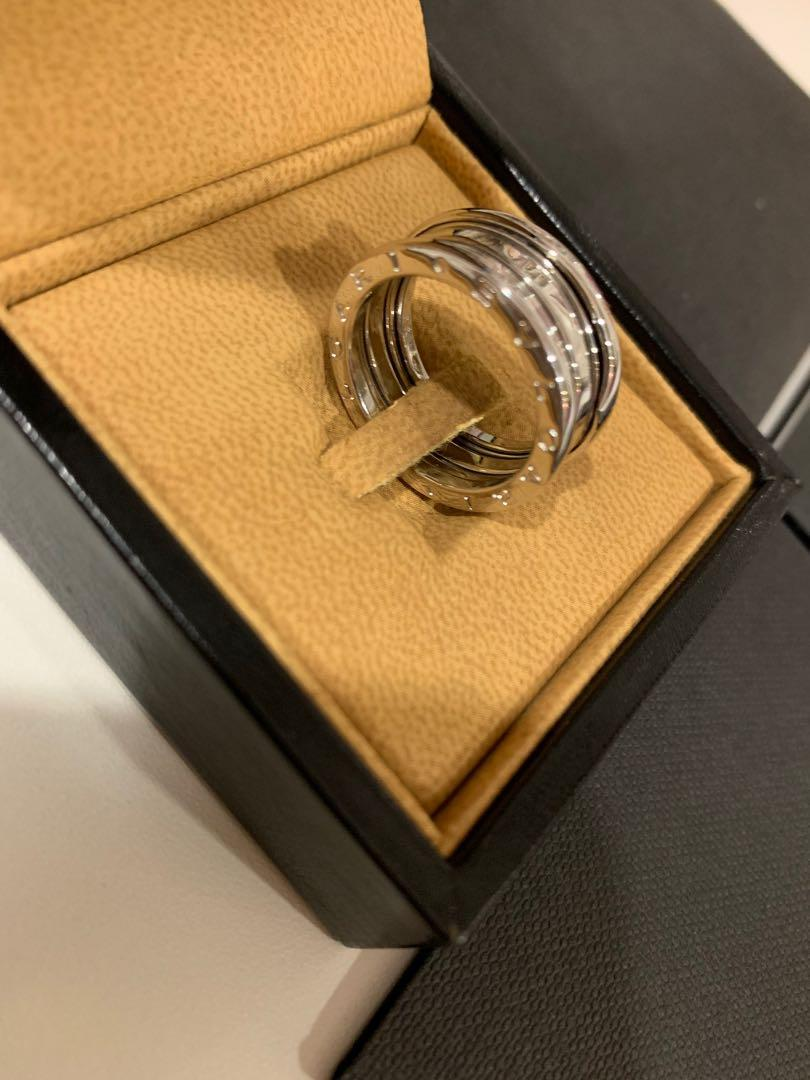 Bvlgari ring b zero1 18k white gold