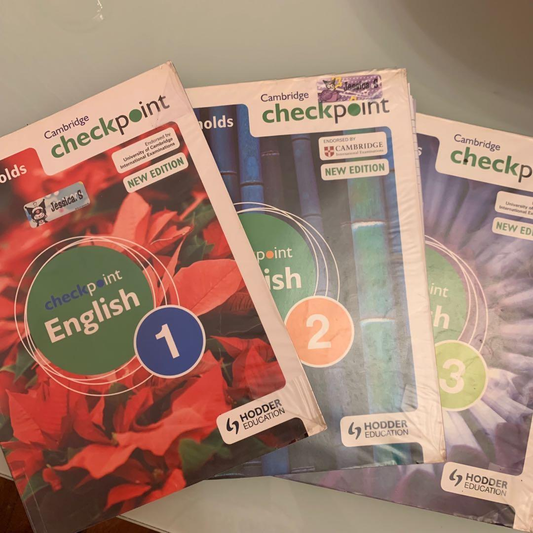 cambridge checkpoint english 1 , 2 , 3