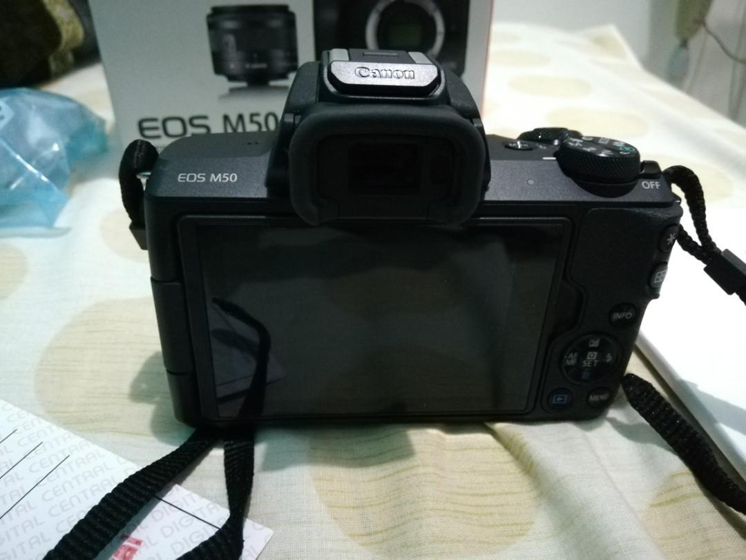 Canon EOS M50 / Kamera Mirrorless Garansi Like New
