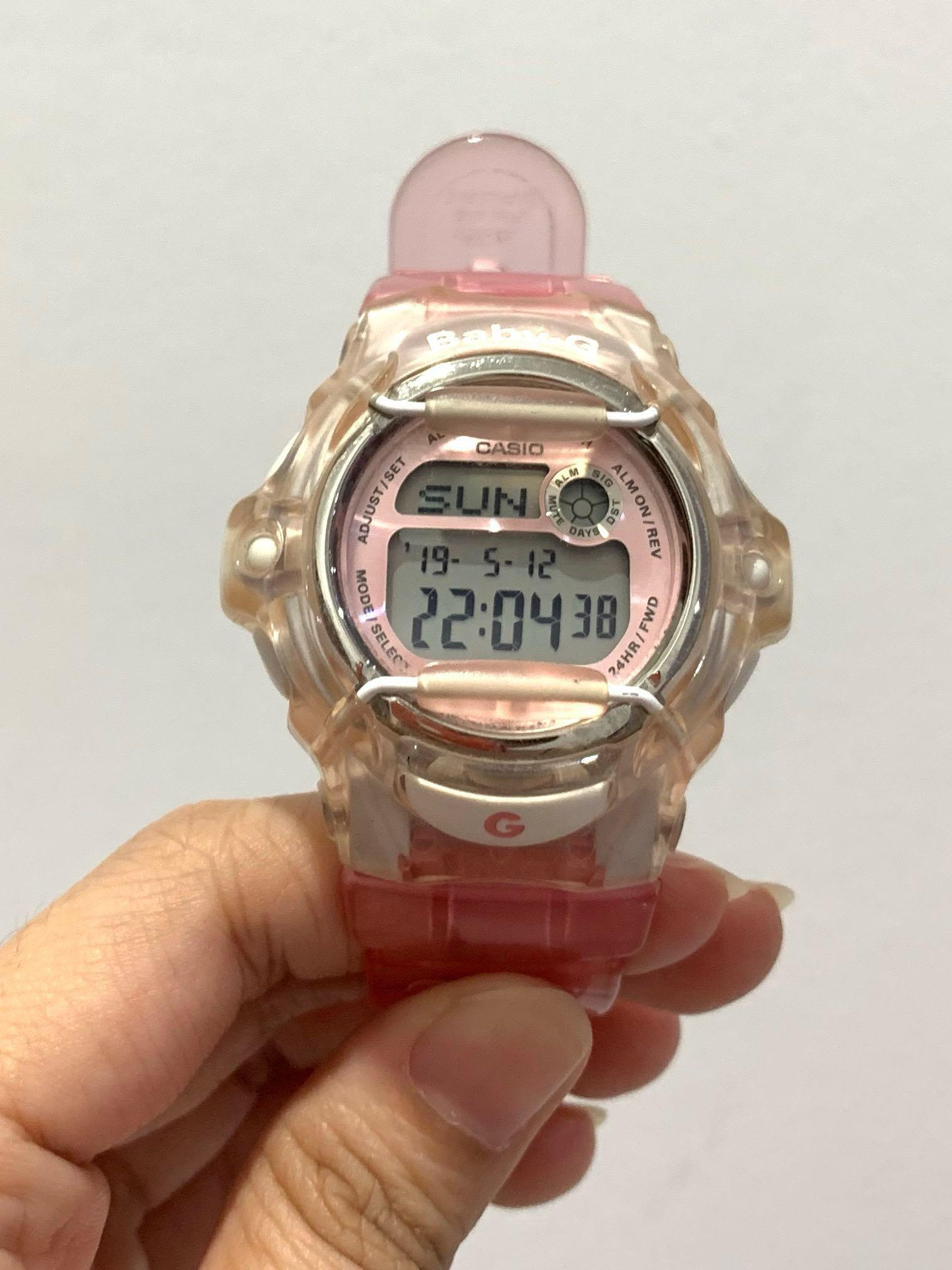 Casio Baby G BG-169R-4DR Light Pink Transparancy Resin Strap