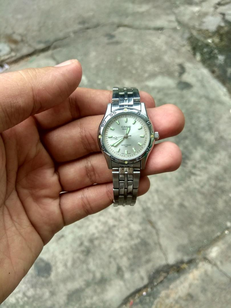 Casio LTP-1243 ( Full Stainless stell)