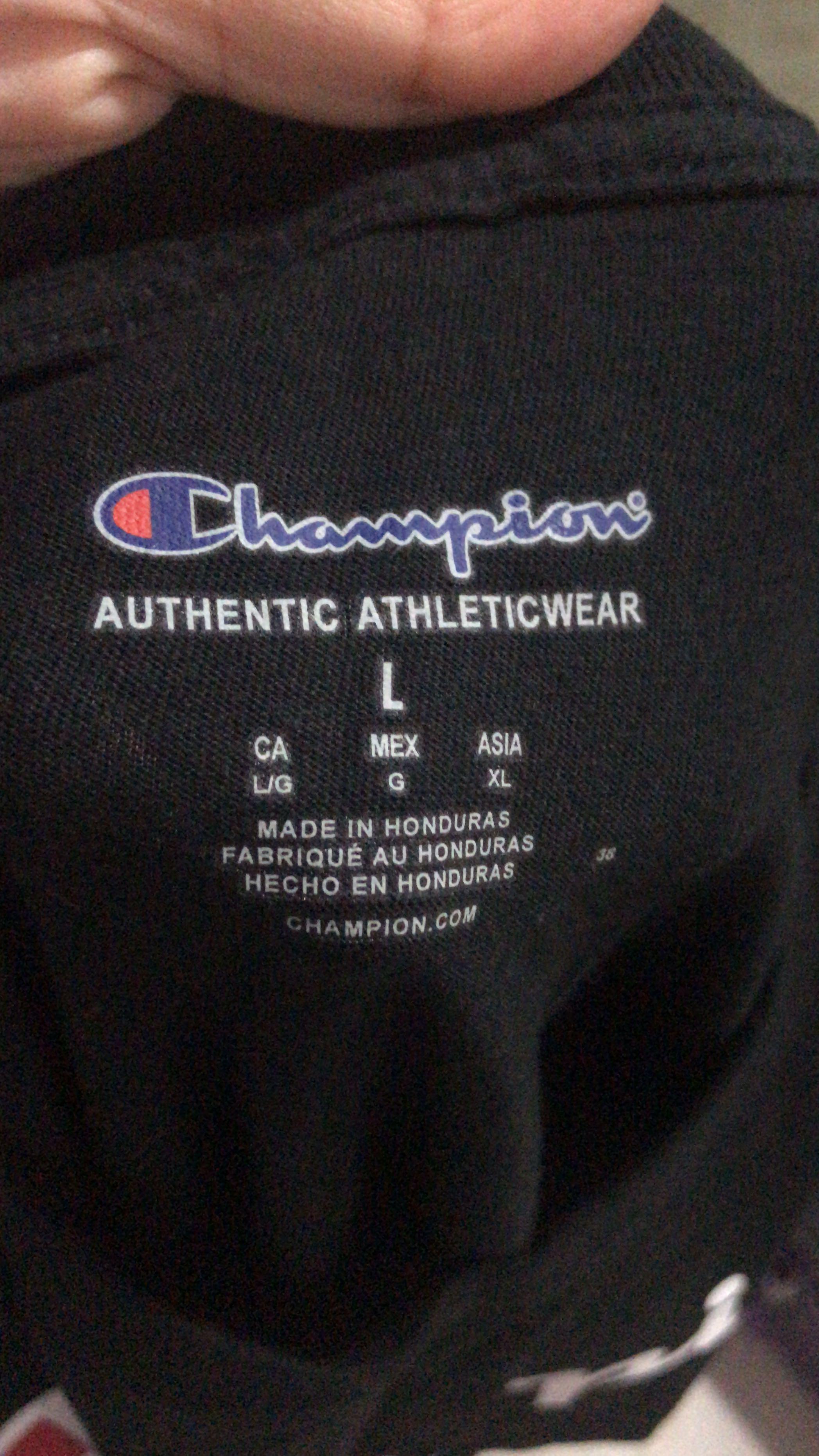 Champion T-shirt (Long sleeve)