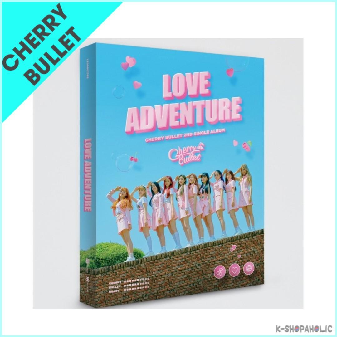 CHERRY BULLET - 2nd Single Album ' LOVE ADVENTURE '