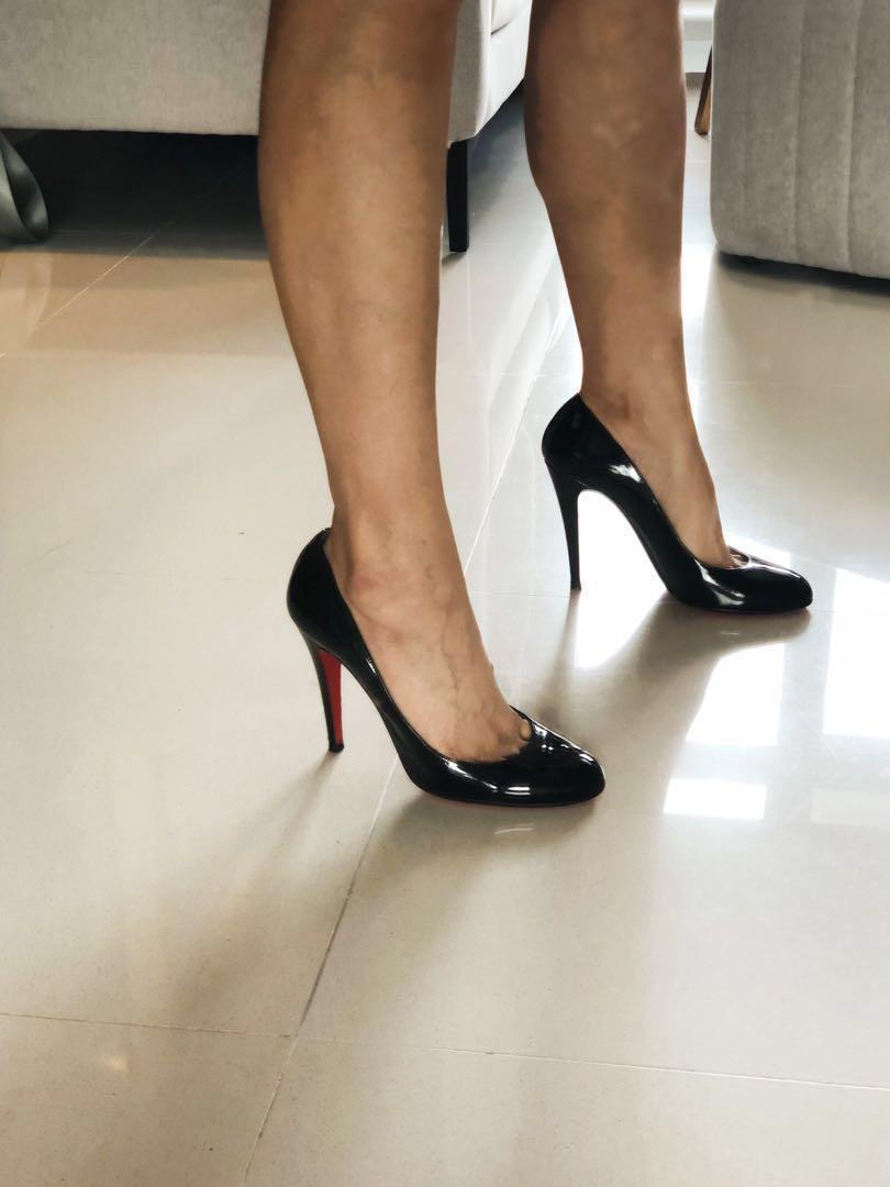 new product 077df 6d444 Christian Louboutin Simple Pump 85mm, Women's Fashion, Shoes ...
