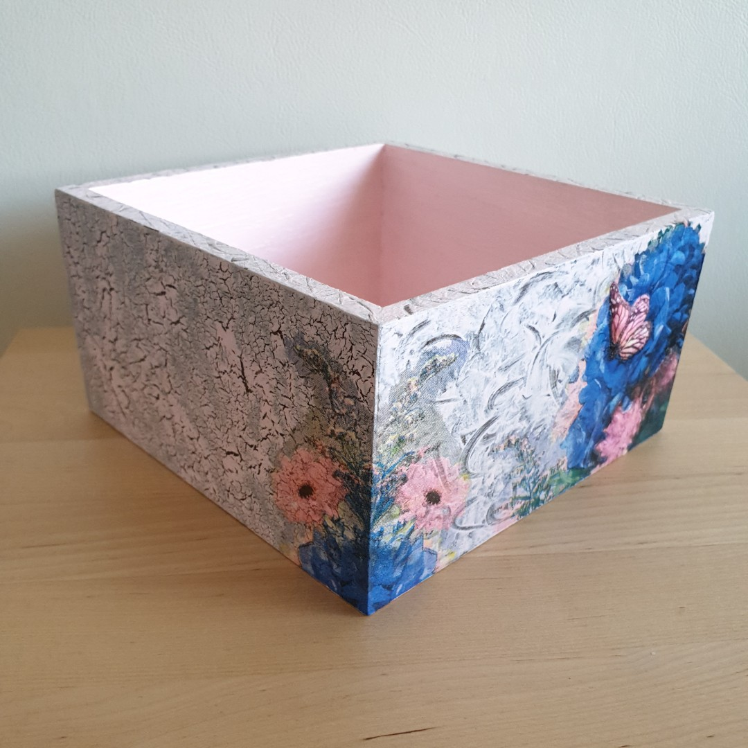 Decoupage Wooden Box, Design \u0026 Craft, Handmade Craft on