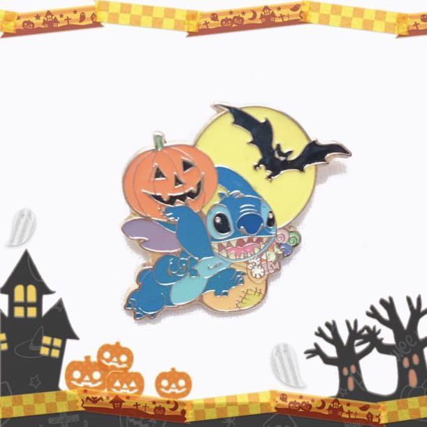 Disney Pin 迪士尼襟章 Stitch 史迪仔 - Halloween 👻