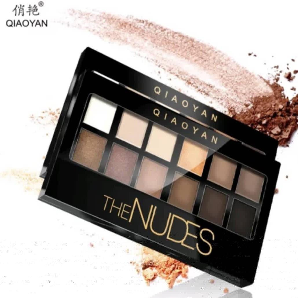 Eyeshadow the nudes