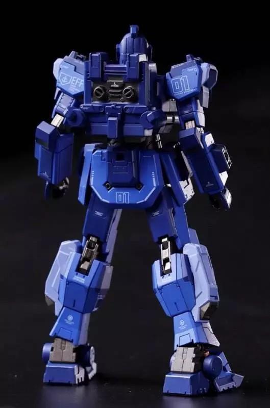 Blue Destiny Unit1 RX-79BD1 MG Size 1/100 蒼藍命運 合金骨架 USB充電會發聲可着燈 高達