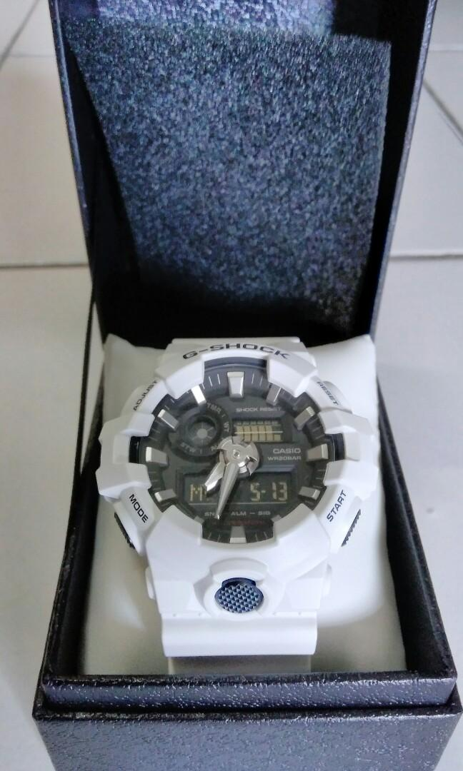 G Shock GA7007AJF White