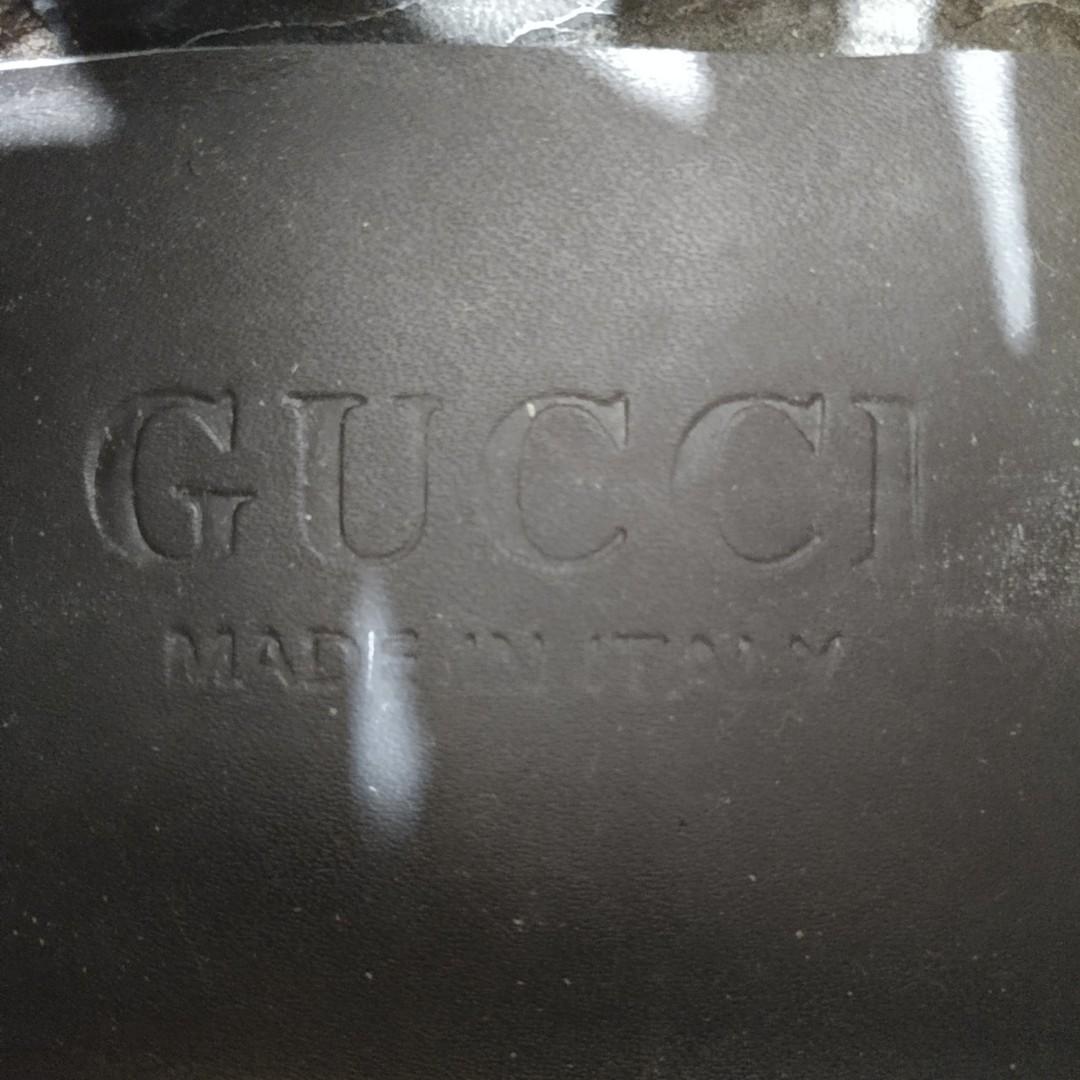 Gucci Sepatu Kulit Coklat Simple Premium Preloved #BAPAU