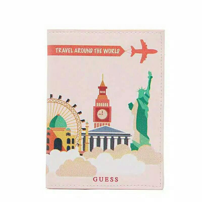Guess Passport Case