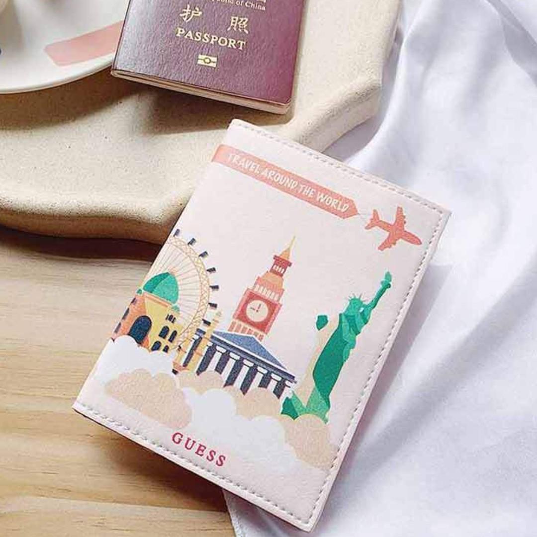 GUESS PASSPORT WALLET  Jual Tas Branded Original