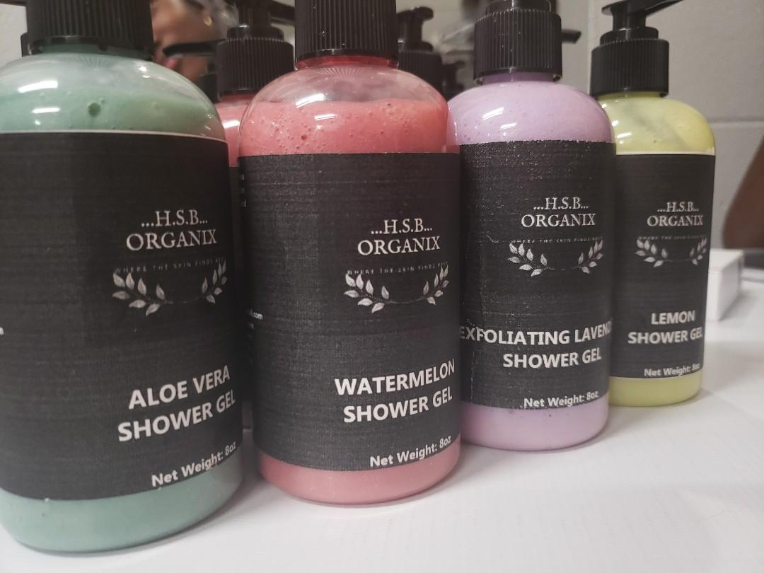 Handmade shower Gel