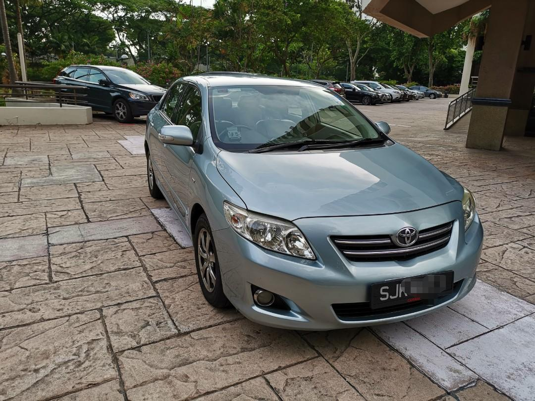 Toyota Altis for rent/lease