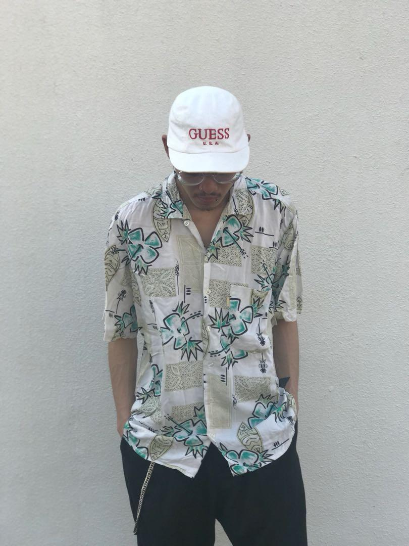 Hawaiian vintage shirt 夏威夷夏天必備造型ss19 古著恤衫 wtaps visvim