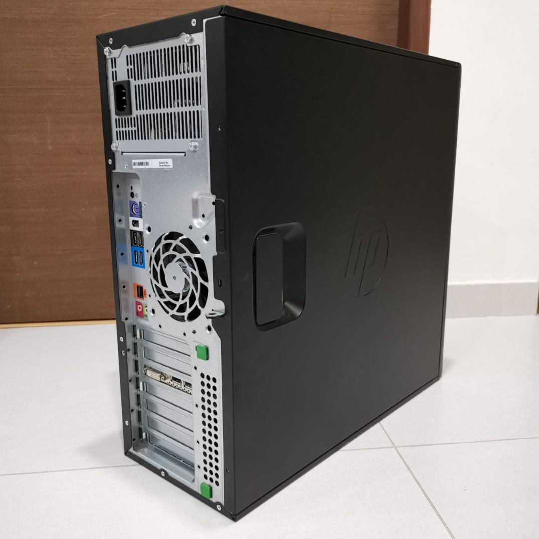HP Z420 Workstation, Xeon E5-4650, 8 Cores 16 Threads, 2 7
