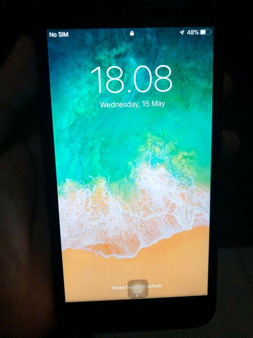 Iphone 7 Plus 32GB Blackmate Mulus Ex Inter