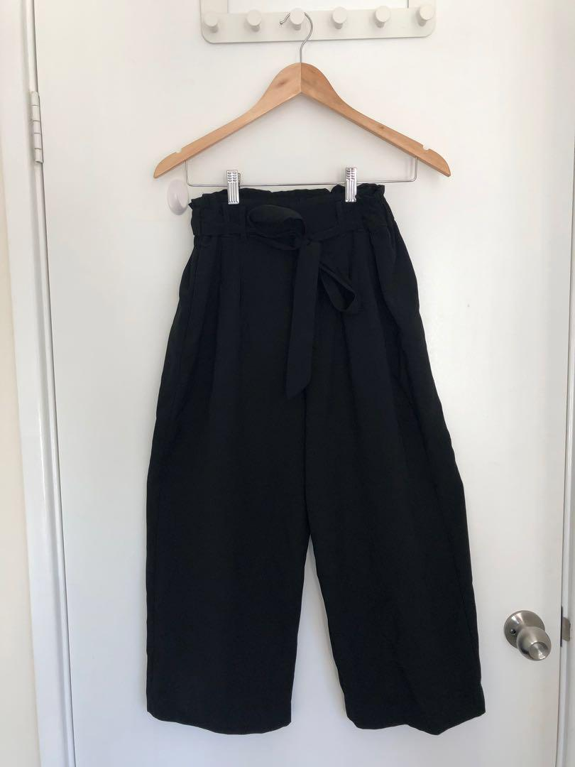 Just Jeans & Valleygirl Black Culottes