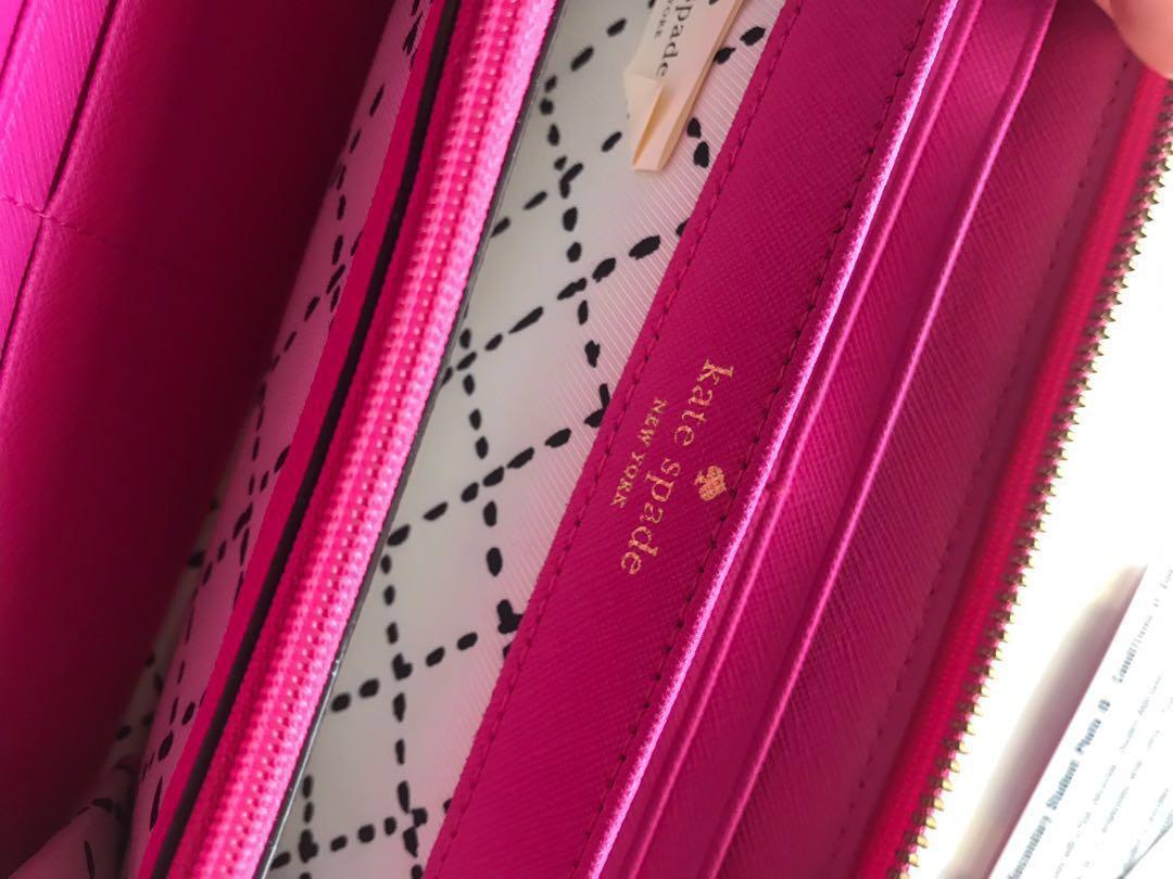Kate spade pink wallet