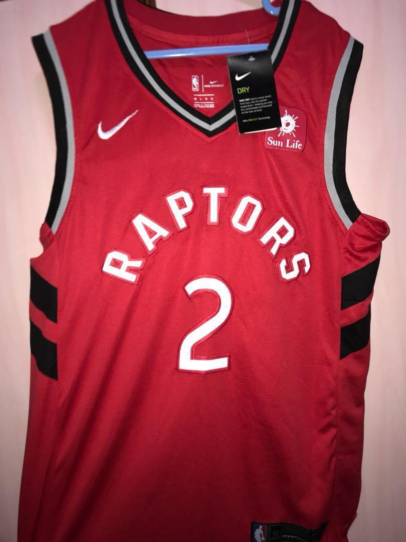 more photos 2e52e 103f7 Kawhi Leonard Raptors Jersey L size, Sports, Sports Apparel ...