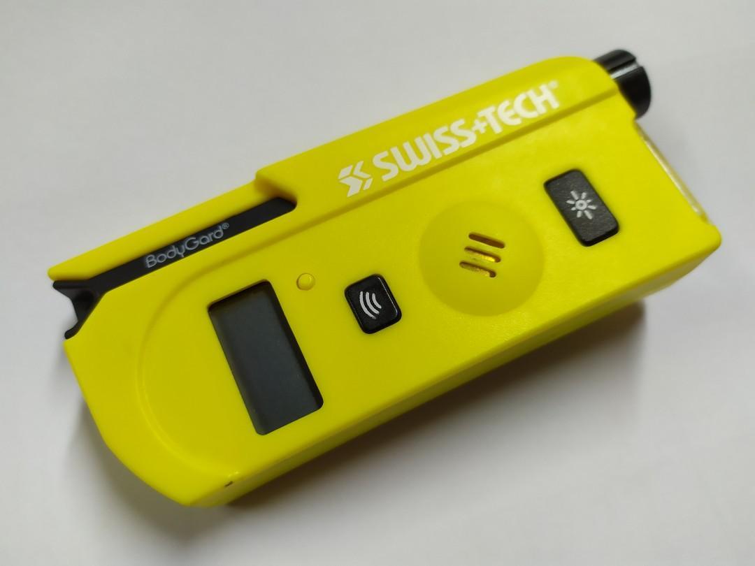 劈價清貨 ~ HK$18/1件 ~ 5合1黃色多功能貽壓計, 軚壓計, LED電筒, 防狼求救器, 汽車安全帶剪刀, 爆玻璃