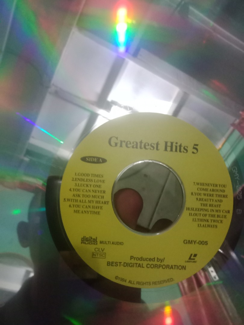 Laser disc greatest hits 5
