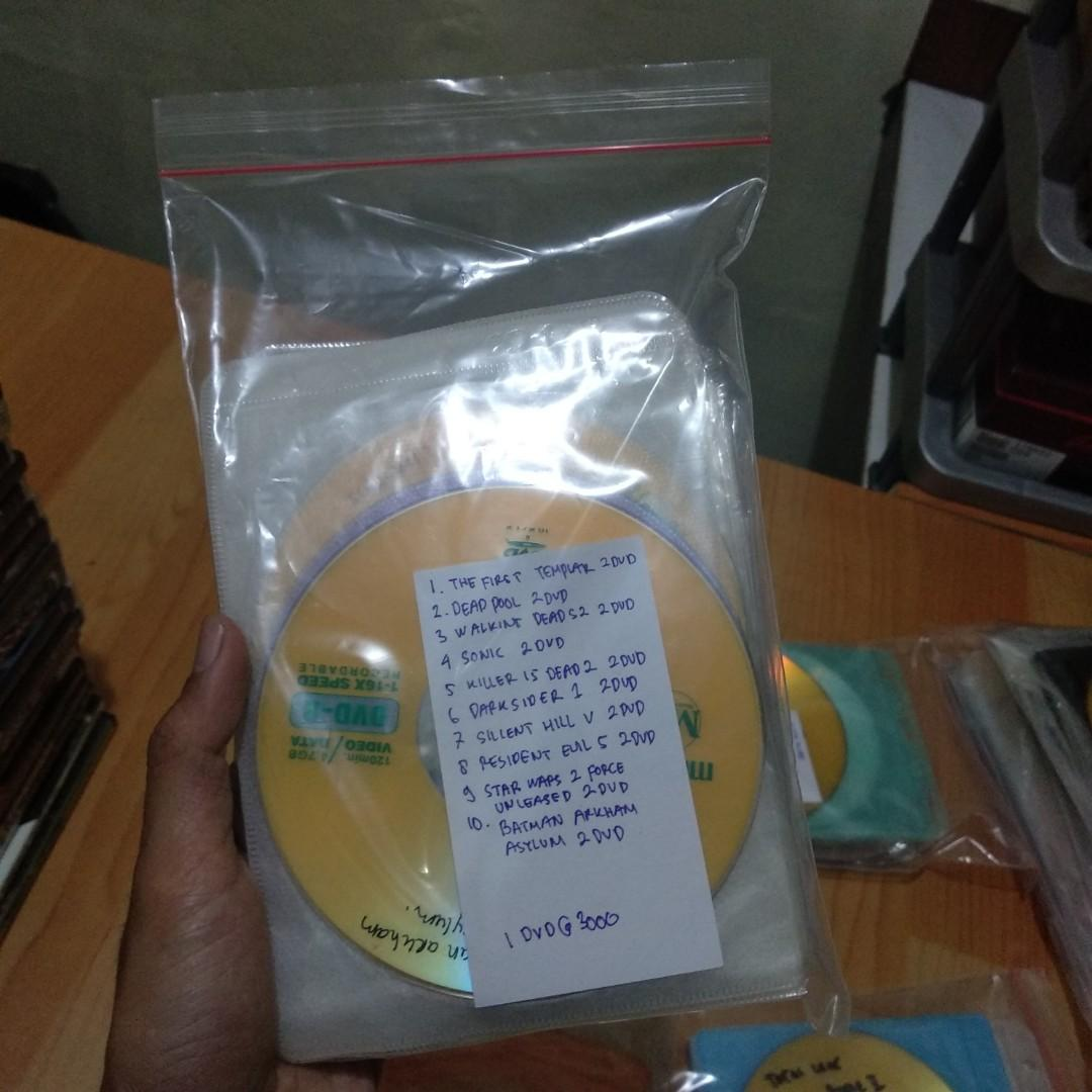 Lelang DVD Game PC Murah Mulus