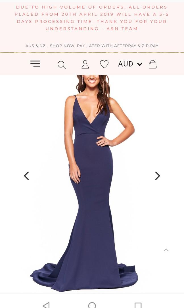 Looking for formal gowns in this style or vaguely similar but any colour!