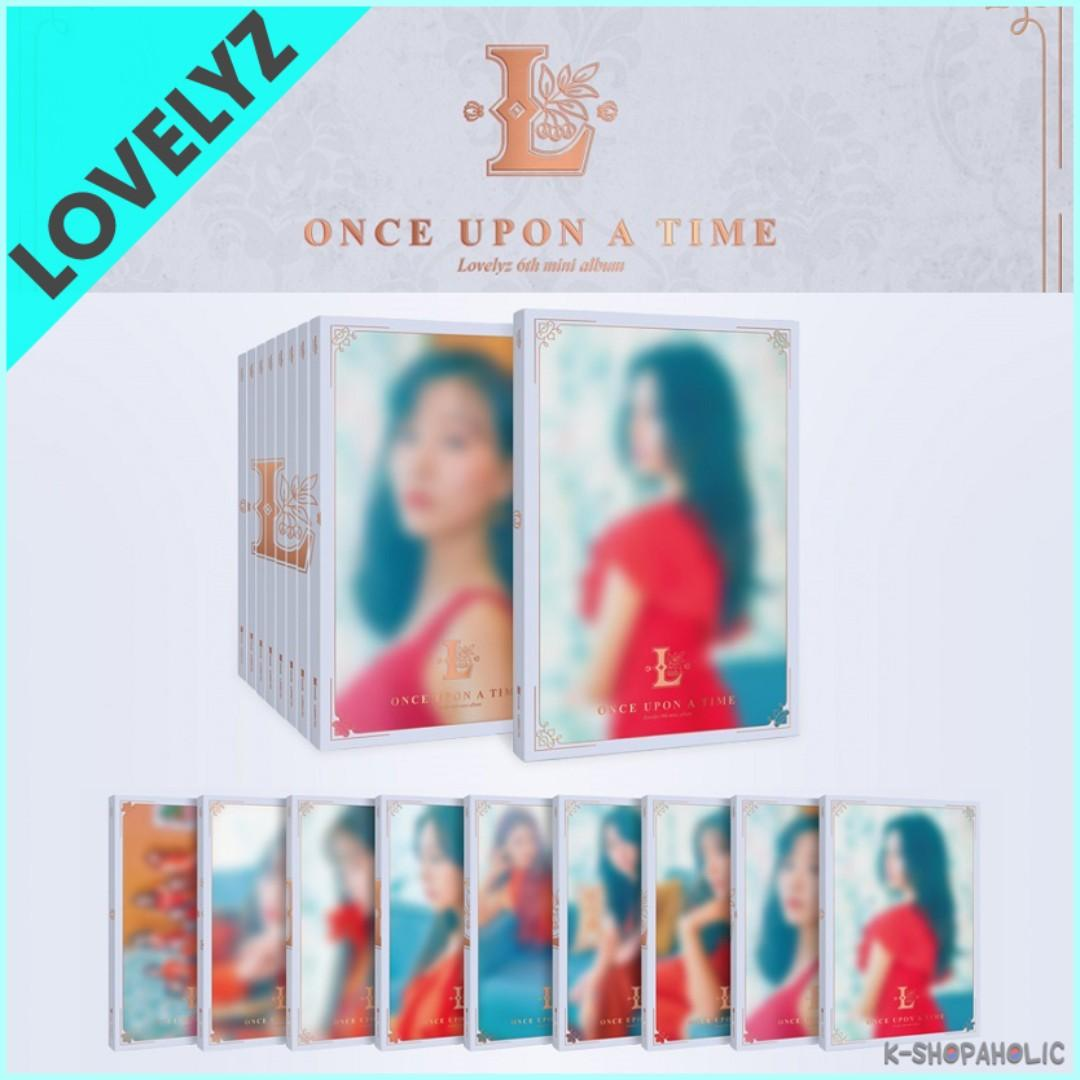 LOVELYZ - 6th Mini Album ' ONCE UPON A TIME ' (NORMAL version)