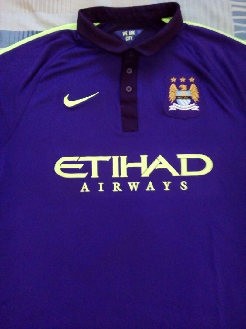 best deals on 1ad24 9dacf Manchester City Football Top on Carousell