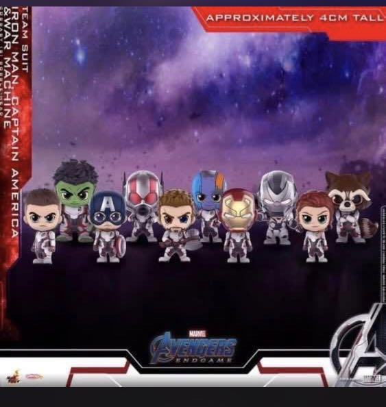 Marvel Avengers Endgame mini set
