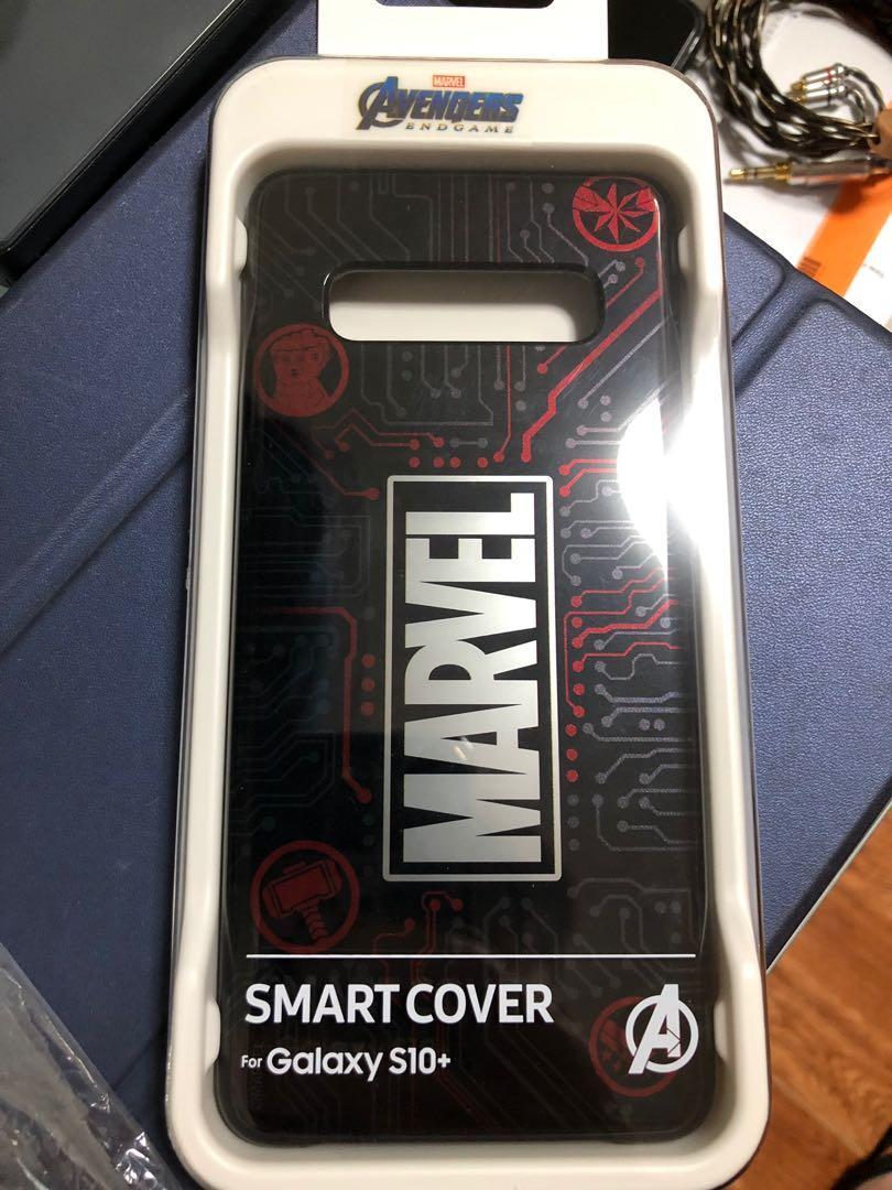 Marvel Samsung S10+ 手機殼 Marvel大字款 附獨家主題