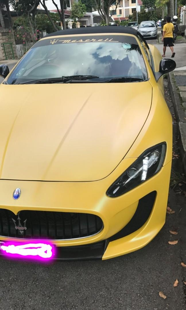 Maserati GranCabrio 4.7 Sport Auto