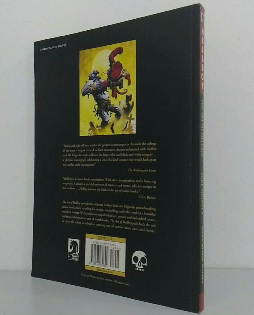 Mike Mignola-The Art of Hellboy-Dark Horse Books