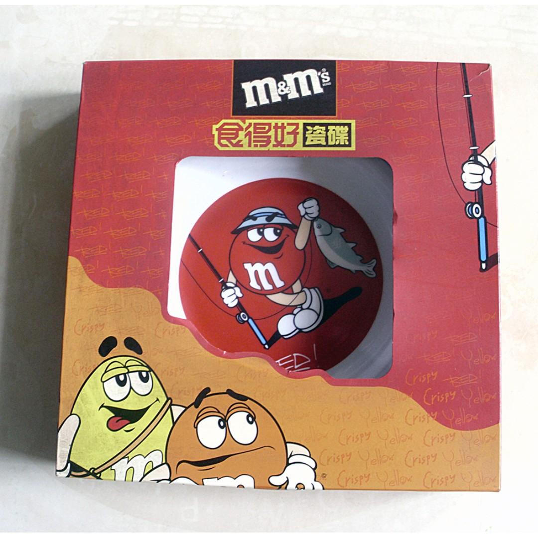 """M&M's 9""""食得好瓷碟一隻"""